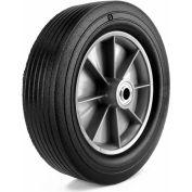 """Martin Wheel 12"""" Heavy Duty Wheel ZP121RT-342 - 12 x 3.00 - 5/8"""" BB x 3-1/4"""" Centered Hub -Rib Tread"""