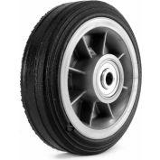 """Martin Wheel 6"""" Heavy Duty Wheel ZP61RT-325 - 6 x 2.00 - 1/2"""" BB x 2-1/2"""" Centered Hub - Rib Tread"""