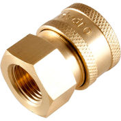 4200 PSI 3/8 F Brass Quick Coupler