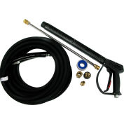 MTM Hydro 4000 psi M407 Pressure Washing Gun Kit with Rubber Hose and Wand