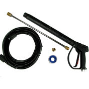 MTM Hydro 3200 psi M407 Pressure Washing Gun Kit with Hobby Hose and Wand