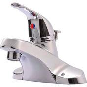 "Ultra Faucets 1 Handle Lavatory Faucet W/Pop-Up Drain Assembly, UF34020 Chrome, 6-3/8""H"