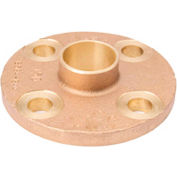"Mueller A 02802 3"" Lead Free Cast Copper Companion Flange"