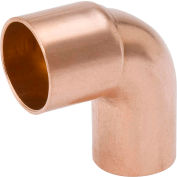 Mueller W 02321 3/8 In. Wrot Copper 90 Degree Long Radius Street Elbow - Street X Copper