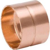 Mueller W 07055 1-1/4 In. Wrot Copper DWV Coupling - Copper