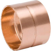 Mueller W 07072 2 In. Wrot Copper DWV Coupling - Copper