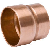 Mueller W 07378 3 In. X 1-1/2 In. Wrot Copper DWV Extended Bushing - Street X Copper