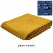10' X 12' Sf 14.90 Oz Water Resist Canvas Tarp Olive Drab