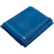 6' x 8' Blue Mesh Tarp w/Reinforced Hems