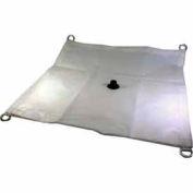 4' X 4' Translucent Flame Retardant Drain Tarp - VN-0404