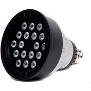 Moon Visions 22W 3.5K 120VBR40-U-BZT 22W 120V Warm White LED Uplight-Bronze Texture
