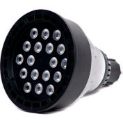 Moon Visions 22W 5K NFL 12VBR40-U-BZT 22W 12V Cool White Narrow Flood LED Uplight-Bronze Texture