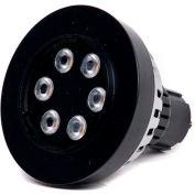 Moon Visions 7W 3.5K FL 12VBR30-U-HGT 7W 12V Warm White Flood LED Uplight-Hartford Green Texture