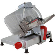 """Axis AX-S10 ULTRA - Meat Slicer, 10"""" Blade, Manual, Poly V-Belt Drive System"""
