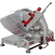 """Axis AX-S13G - Meat Slicer, 13"""" Blade, Manual, Gear Driven, Noiseless Operation, 120V"""