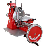 """Axis AX-VOL12 - Volano Flywheel Meat Slicer, 12"""" Blade, Fully Hand-Operated"""