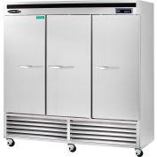 Kool-It KBSF-3 - Freezer, Reach-In, 72 Cu. Ft., Bottom Mounted Compressor, 3 Doors, 115V
