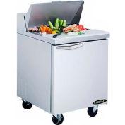 "Kool-It KST-27-1 Salad Prep Table 27"" 1 Door"