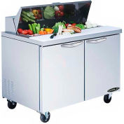 "Kool-It KST-48-2 Salad Table 48"" 2 Door"