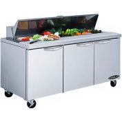 "Kool-It KST-72-3 Salad Table 72"" 3 Door"