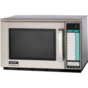 "Sharp R-25JTF - Commercial Microwave Oven, Heavy Duty, 2100W, S/S, 20-1/8""W x 18-1/2""H x 13-1/4""D"