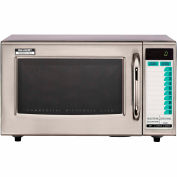 Sharp® R-21-LTF, Commercial Microwave Oven, 1.0 Cu. Ft., 1000 Watt, TouchPad Control