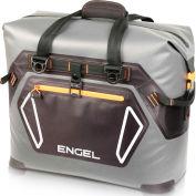 Engel®  ENGTPU-ORANGE, Outdoor Cooler Bag, 32 Qt., Gray/Orange , TPU Coated Nylon
