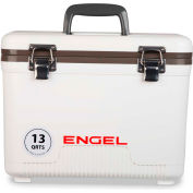 Engel®  UC13, Cooler/Dry Box,  13 Qt., White, Polypropylene - Pkg Qty 4