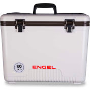 Engel®  UC30, Cooler/Dry Box, 30 Qt., White, Polypropylene - Pkg Qty 4