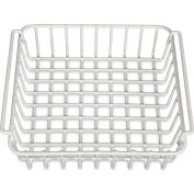 Engel®  WB80, Wire Basket fits ENG80, White, Coated Steel Wire
