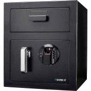 "Barska AX13108 Biometric Keypad Depository Safe - 13-3/4""W x 13-3/4""D x 16""H, 0.72 Cubic Ft."