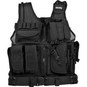 "Barska Loaded Gear VX-200 Tactical Vest (Right Handed Use), 22""L x 38-50""W"