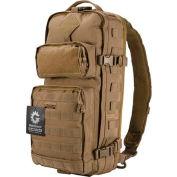 """Barska Loaded Gear GX-300 Tactical Sling Backpack BI12340 21-1/2"""" x 13"""" x 2-1/2"""" Dark Earth"""