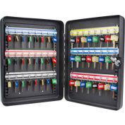 "Barska Key Safe With Keyed Lock CB12484 - 48 Key Cap. 14-1/2"" x 11"" x 3"" Black"