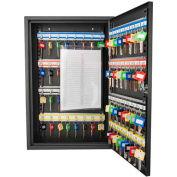 "Barska Key Safe With Keyed Lock CB12486 - 64 Key Cap. 12"" x 3-1/4"" x 18"" x Black"