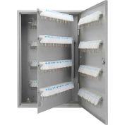 "Barska Key Lock Box With White Tags & Keyed Lock CB12492 - 160 Key Cap. 22"" x 15"" x 3"" Gray"