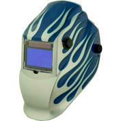 Metal Man ASB8735SGC - Professional Auto-Darkening Helmet - 9-13  Var. Shade Control w/ Grind Mode
