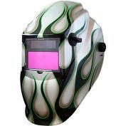 Metal Man ASF8700SGC - Professional Auto-Darkening Helmet - 9-13 Var. Shade Control w/ Grind Mode