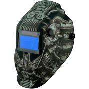 Metal Man ATEC8735SGC - Professional Auto-Darkening Helmet - 9-13 Var. Shade Control w/ Grind Mode