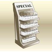 """MasonWays™ 201548 SM Adjustable Shelf Merchandiser 20""""W x 15""""D x 48""""H"""