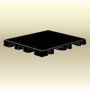 "MasonWays™ 42306 Display Base Pallet Spot Merchandiser 42""W x 23""D x 6""H Black"