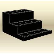 "MasonWays™ 483636-3 Stair Step 3 Step Display48""W x 36""D x 36""H"