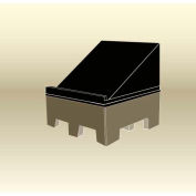 "MasonWays™ 484016 R Bulk Produce Merchandiser Riser 48""W x 40""D x 16""H"
