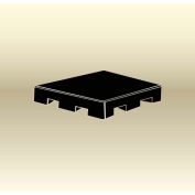 "MasonWays™ 48426 HP/FL Display Base Pallet End Cap / Spot Merchandiser 48""W x 42""D x 6""H"