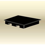 "MasonWays™ 58376 HP/FL Display Base Pallet End Cap / Spot Merchandiser 58""W x 37""D x 6""H"