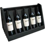 """MasonWays™ WD 24 5-Bottle Wine Display 24""""W x 12""""D x 3""""H"""