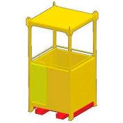 """M&W 48"""" x 48"""" Personnel Basket - 1000 Lb. Capacity"""