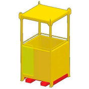 """M&W 48"""" x 72"""" Personnel Basket - 1500 Lb. Capacity"""