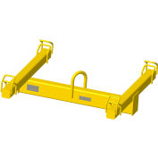"M&W Lifting Beam Bulk Container | 48"" Spread - 4000 Lb. Capacity"