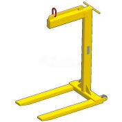M&W Wheeled Dual Bale Lift Pallet Lifter - 4000 Lb. Capacity